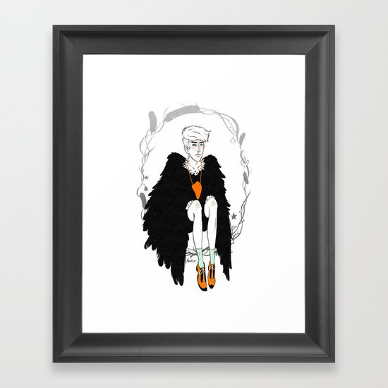 Rare Birds II - Remake Framed Art Print