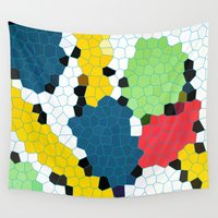 1984 Wall Tapestries featuring The Gaudi Legacy by BrucestanfieldartistPatterns