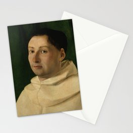 Lorenzo Lotto - A Young Dominican Monk Stationery Cards