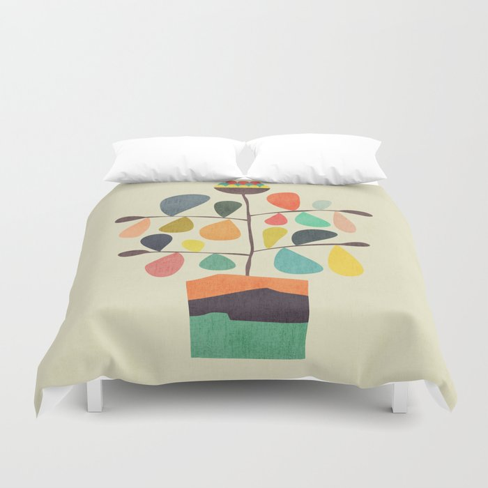 Potted Plant 4 Duvet Cover