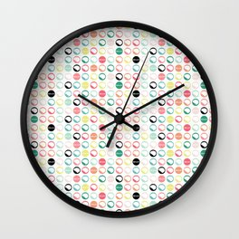 Brain Dots Wall Clock
