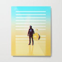 Crewman 2.0 Metal Print