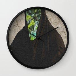 Miss Palms Wall Clock