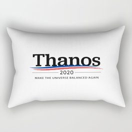Thanos 2020 -- Make the Universe Balanced Again Rectangular Pillow
