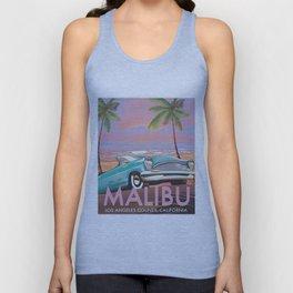 Malibu Los Angeles California Unisex Tank Top