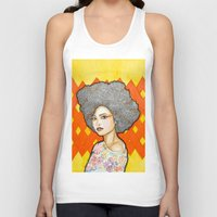 ginger Tank Tops featuring Ginger by Bhavana S N