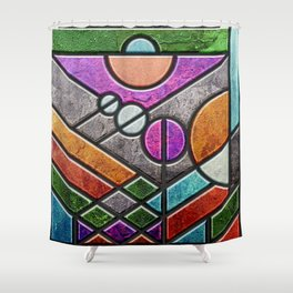 SG Too, panel 1 Shower Curtain