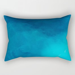Deep Blue Wonder Rectangular Pillow