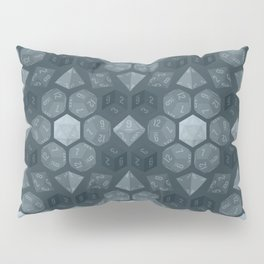 Dungeon Dice Pattern Pillow Sham