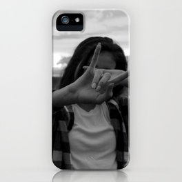 Native Girl Magic iPhone Case