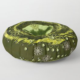 One horizon one Island for humankind decorative Floor Pillow