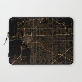 Tulsa map, Oklahoma Laptop Sleeve