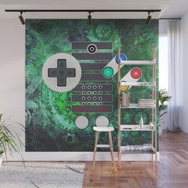 Classic Steampunk Game Controller Wall Mural