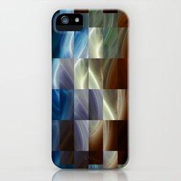 Metal Squares iPhone Case