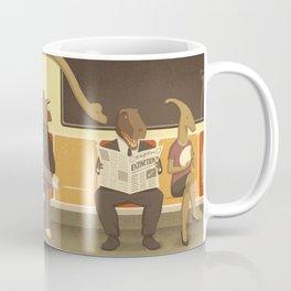 Dino Subway Coffee Mug