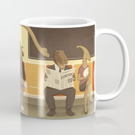 Dino Subway Coffee Mug