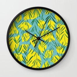 Rosemary and Lemons Wall Clock
