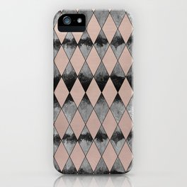 Geometric Diamond Glam #1 #geo #decor #art #society6 iPhone Case