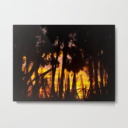 vibrant jungle Metal Print