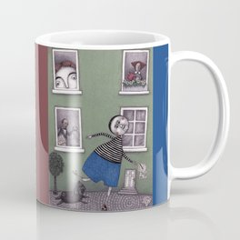 A Day for Roller-Skating Coffee Mug