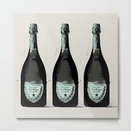 Dom Perignon Champagne Metal Print