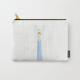 light blue angel Carry-All Pouch