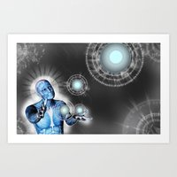 Acknowledgment of Consciousness Art Print
