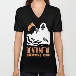 Death Metal Gardening Club Unisex V-Neck