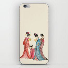 Ancient Chinese ladies painting iPhone Skin