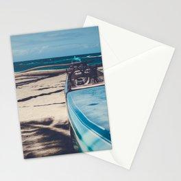 Hawaiian Outrigger Canoe Kuau Paia Maui Hawaii Stationery Cards