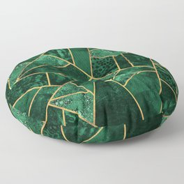 Deep Emerald Floor Pillow