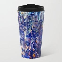 New York city night color Travel Mug