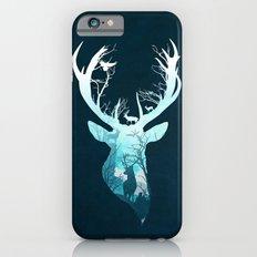 Deer Blue Winter iPhone 6s Slim Case