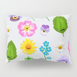 Pressed Flowers Pillow Sham