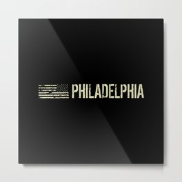 Black Flag: Philadelphia Metal Print