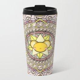 Cuteness Mandala Metal Travel Mug