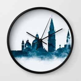 Venice Skyline Wall Clock