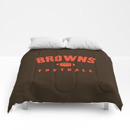 Browns Football Comforters