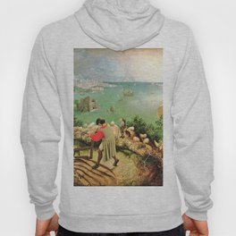 Landscape With The Fall Of Icarus Painting Pieter Bruegel The Elder Hoody