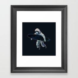Gravitational Waves Framed Art Print