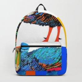 PeaHen & Cassowaries Backpack