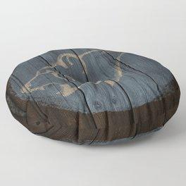 Bear Shield Floor Pillow