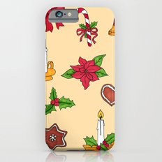 Christmas pattern (#2 yellow) Slim Case iPhone 6s