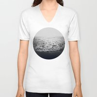 infinity V-neck T-shirts featuring Infinity by Leah Flores