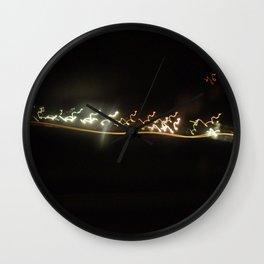 Shaken Wall Clock