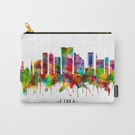 Lima Peru Skyline Carry-All Pouch