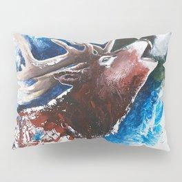 Deer - Valentine - animal by LiliFlore Pillow Sham