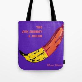 The Silk Subway & Nikka Tote Bag