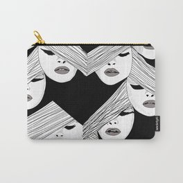 Audrey pattern Carry-All Pouch