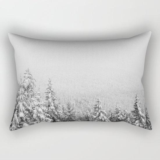 Winter vibes #evergreen #society6 Rectangular Pillow